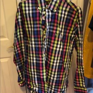 Excellent condition TAILORBYRD SHIRT Multicolor